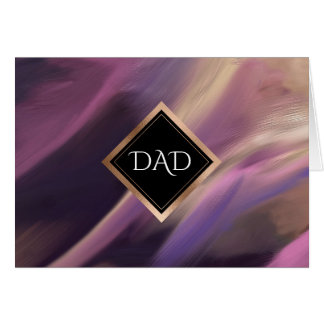 For Dad on Father's Day Custom Cards