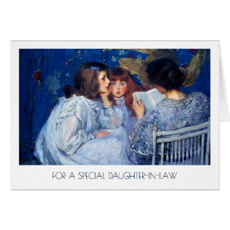 For Daughter-in-Law on Mother's Day Fine Art Cards
