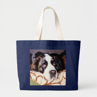 FOR DOG LOVERS LARGE TOTE BAG