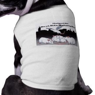 For Doggies that Support the West Side Highway Rat Dog T-shirt