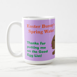 For Easter Bunny Water Mug Personalize Name