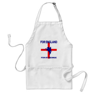 For England For St George Standard Apron