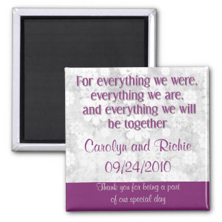 For Everything - Favour Magnet - Purple