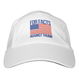 For Facts Against Trump - - Pro-Science - Headsweats Hat