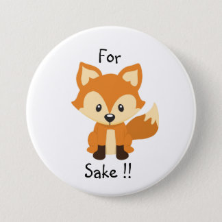 For fox sake button pin