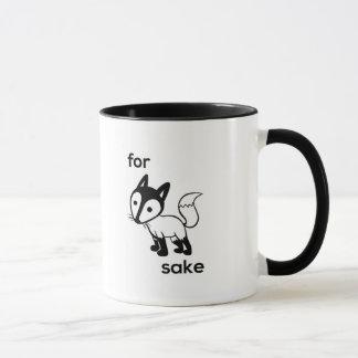 For Fox Sake Coffee Mug