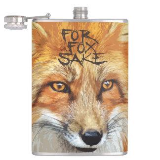 For Fox Sake Design Hip Flask