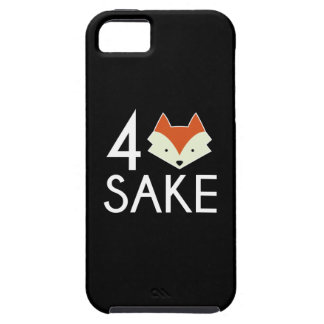 For Fox Sake iPhone 5 Case