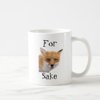For Fox Sake! - mug