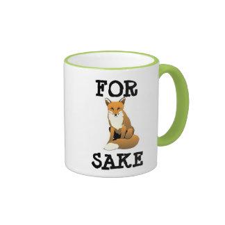 For Fox Sake Mug Mugs