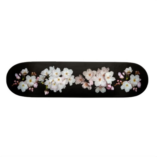 For fund-raising and Cherry blossoms, cherry tree Skate Deck