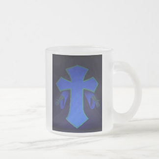 For God did not send His Son into the... Frosted Glass Mug