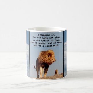 For God Has Not Given Us A Spirit Of Fear Mug