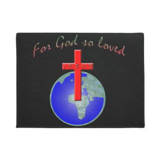 For God so loved Doormat