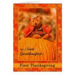 for Granddaughter's 1st Thanksgiving Teddy Bear