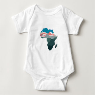 FOR GREAT AFRICA BABY BODYSUIT