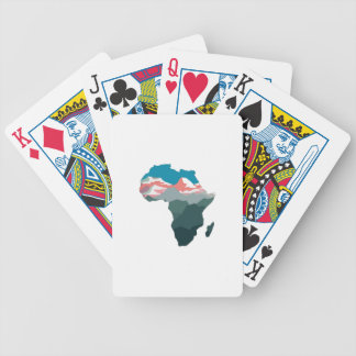 FOR GREAT AFRICA BICYCLE PLAYING CARDS