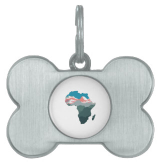 FOR GREAT AFRICA PET NAME TAG
