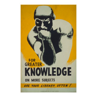 For Greater Knowledge on More Subjects Poster