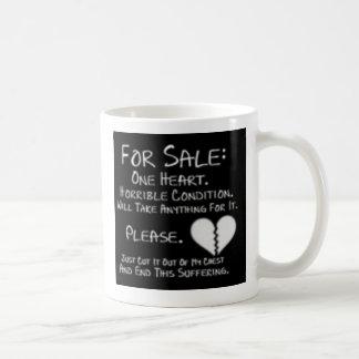 For Heart leaves phrase mug