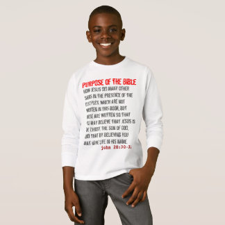 for HIM (youth): Purpose of the Bible T-Shirt