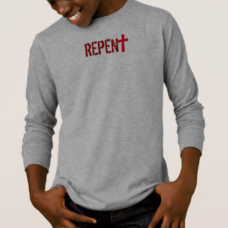 for HIM (youth): REPENT + Acts 3:19 T-Shirt