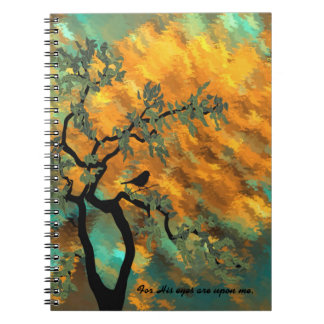 For His eyes are upon me Notebooks
