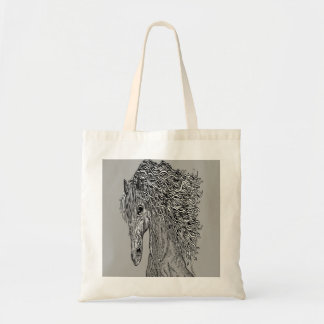 for horse lovers horse pets animal tote bag