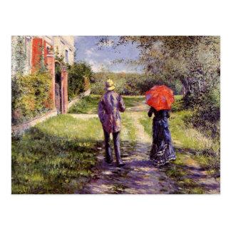 For Husband on Father's Day. Fine Art Postcards