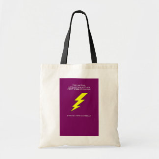 For I Am Zeus Tote Bag