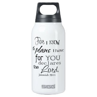 For I Know The Plans I Have For You Quote SIGG Thermo 0.3L Insulated Bottle