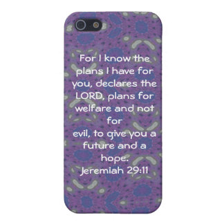 For I know the plans I have  - Jeremiah 29:11 iPhone 5/5S Case