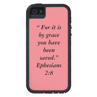 """""""For it is by Grace"""" Iphone 5/5S and SE Phone Case"""