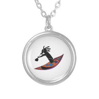 FOR KAYAK VIBES SILVER PLATED NECKLACE