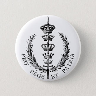 FOR KING AND COUNTRY 2 INCH ROUND BUTTON