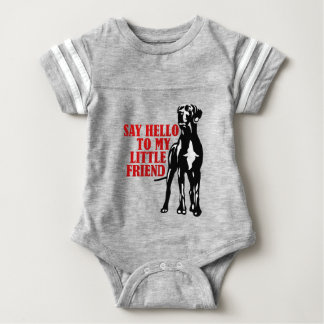 For large cool dog friends baby bodysuit