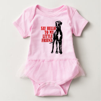 For large cool dog friends with Tütü Baby Bodysuit