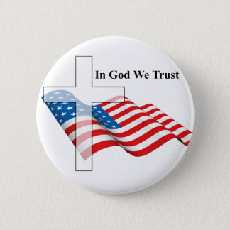 For Love of God and Country 2 Inch Round Button