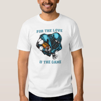 For Love Of The Game Football Shirts