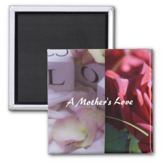For Mother Square Magnet