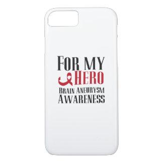 For my Hero Brain Aneurysm Awareness Gift iPhone 8/7 Case