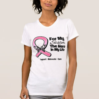 For My Hero My Sister Breast Cancer Shirts