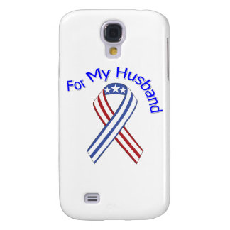 For My Husband Military Patriotic Galaxy S4 Case