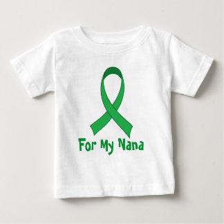 For My Nana Green Ribbon Awareness Gift Baby T-Shirt