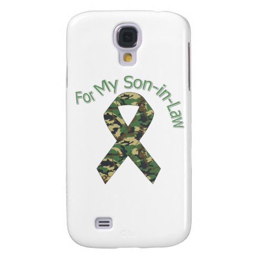 For My Son-in-Law Military Ribbon Galaxy S4 Covers