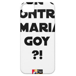 FOR OR AGAINST THE GOYISH MARRIAGE? - Word games iPhone 5 Cover