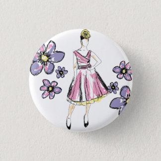 For Passion fashion 1 Inch Round Button