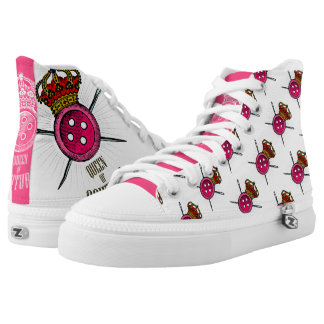For People Who Love Sewing: Queen of Couture Color High Tops