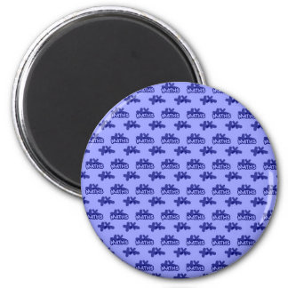 For Perfect gift maths to lover - Blue model 2 Inch Round Magnet