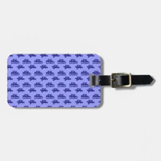 For Perfect gift maths to lover - Blue model Luggage Tag